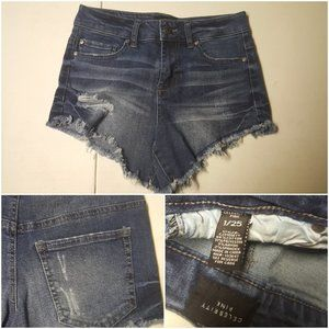 Celebrity Pink Blue Jean Shorts Juniors 1/25